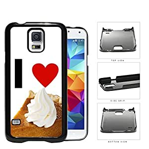 I Heart Pie Hard Plastic Snap On Cell Phone Case Samsung Galaxy S5 SM-G900
