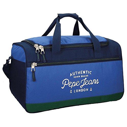 Pepe Jeans Kepel Borsone, 52 cm, 43.73 liters, Multicolore (Multicolor)