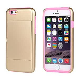 """Cute iPhone 6 Plus Case,iPhone 6 Plus Cases,iPhone 6 Plus Case Cover,iPhone 6 Plus 5.5"""" Case,Addigital iPhone 6 Plus Floral Case Hybrid Hard Back Case Cover For iPhone 6 Plus Plus 5.5 inch With Credit Card Slots 006"""
