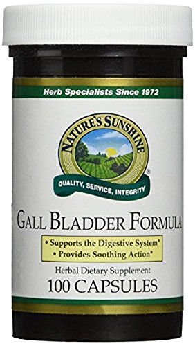 natures sunshine Gall Bladder Formula (100 - Sun Galls