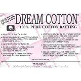 Quilter's Dream Cotton Batting - Natural Select-Mid Loft-Queen