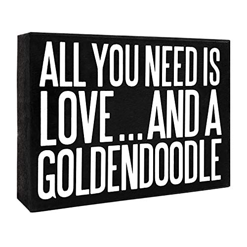 JennyGems All You Need Is Love And A Goldendoodle | Goldendoodle Gift Series | Goldendoodle Quotes | Goldendoodle Moms…