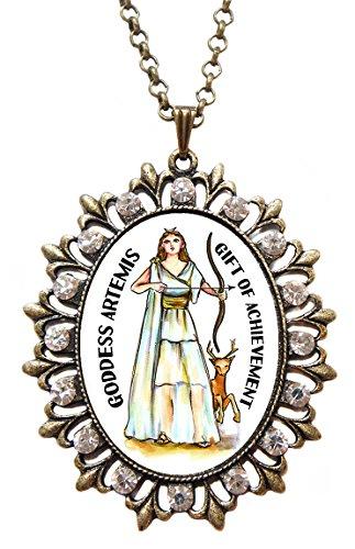 Goddess Artemis Gift of Achievement Huge 2 1/2