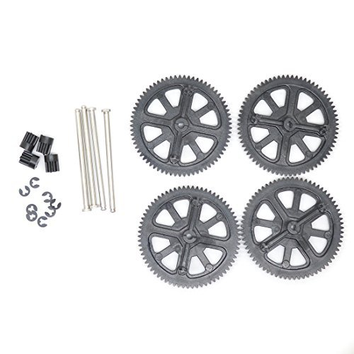 Parrot AR Drone 2.0 & Power Edition Replacement Motor Gears and Shaft / Repair Parts Kit / Upgrade Gears (Black) by Geekria