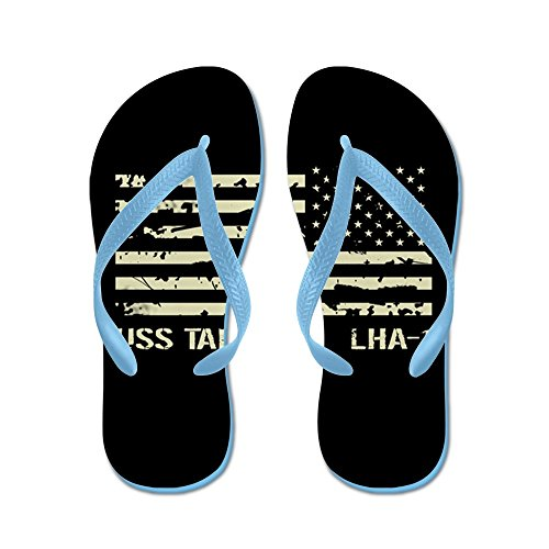 Cafepress Uss Tarawa - Flip Flops, Grappige String Sandalen, Strand Sandalen Caribbean Blue