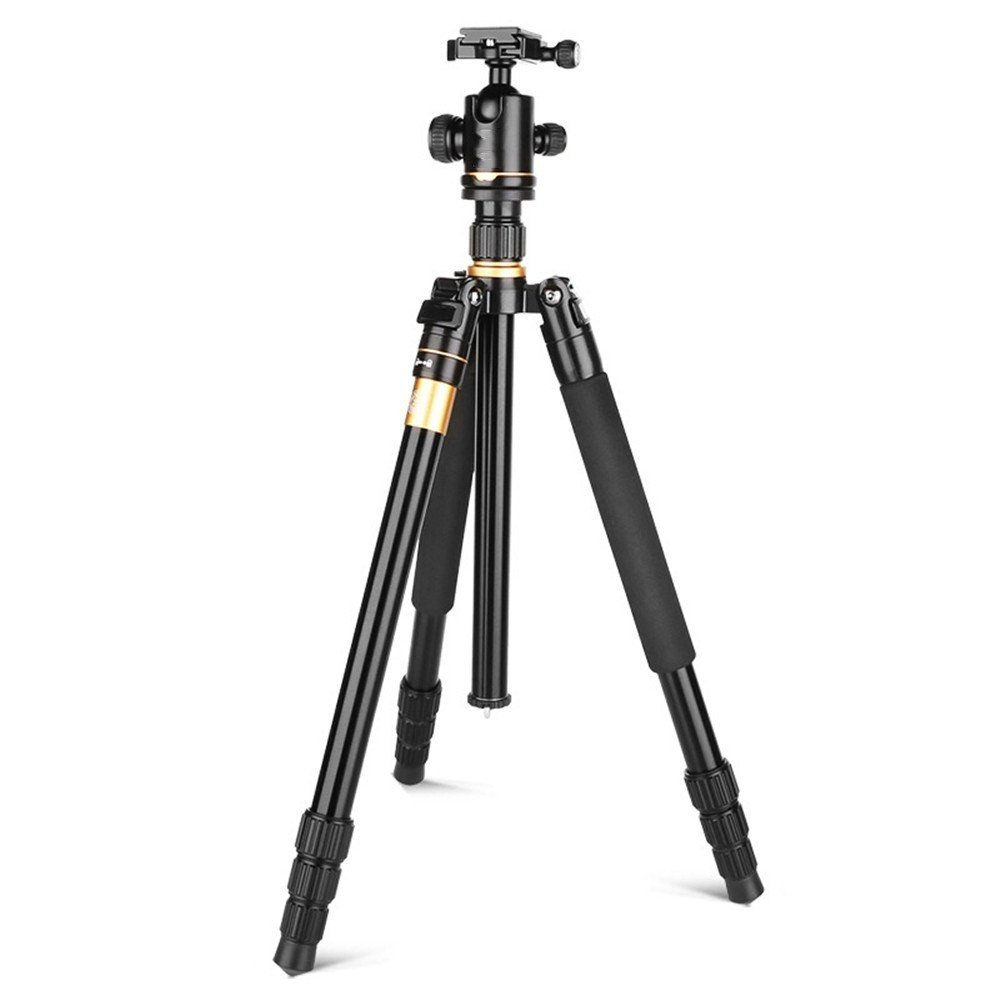 Portable aluminum alloy SLR tripod, removable monopod, travel photography/camera versatile tripod, 360 degree panorama shooting by ZQ