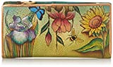 Anuschka Ladies Clutch Wallet FD, Floral Dreams, One Size