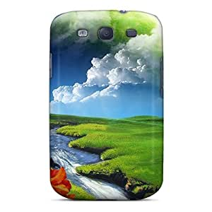 DaMMeke Scratch-free Phone Case For Galaxy S3- Retail Packaging - Surreal