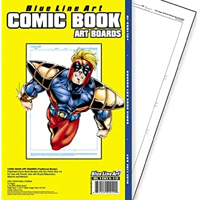 Regular Comic Book Art Board: Office Products