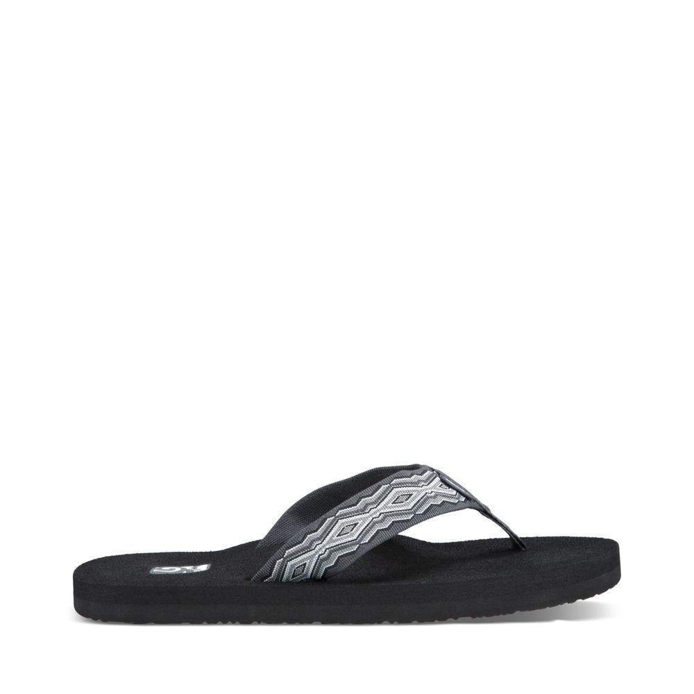 Teva Men's Mush II Flip Flop, Quincy Dark Grey, 11 M US