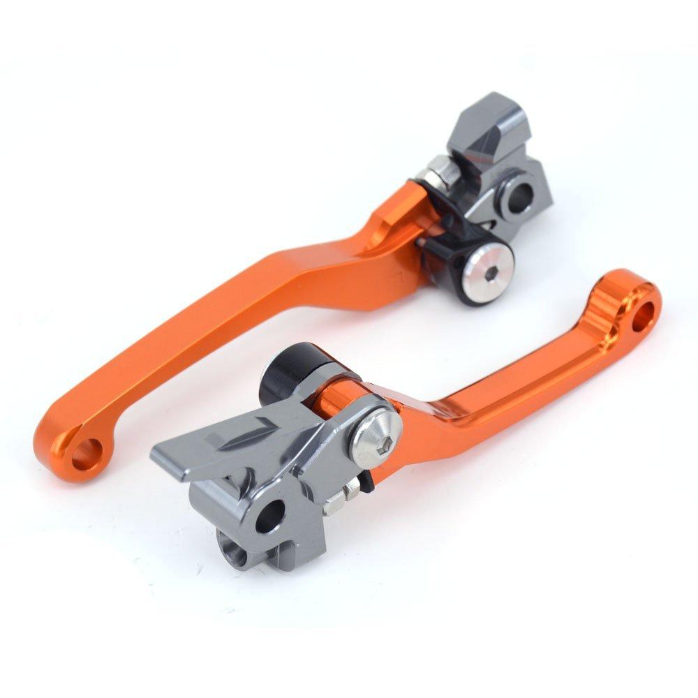 CNC Palancas de embrague de freno plegables para KTM 350 450 SX SXR SXF XCF XCFW XCRW XCW EXCR EXC 14-18 125 150 200 250 300 350 500 SX XC EXC XCFW ...