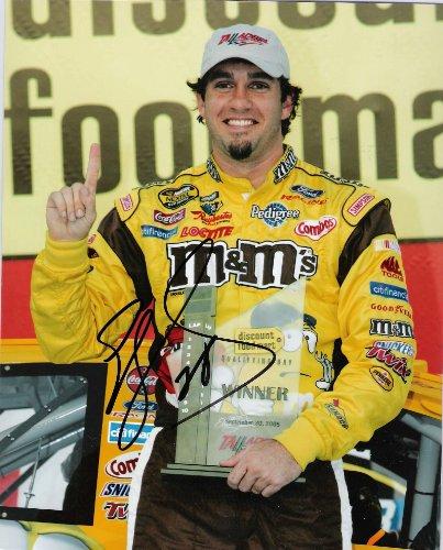 Autographed Elliott Sadler Picture - DRIVER 8x10 Color - Autographed NASCAR Photos