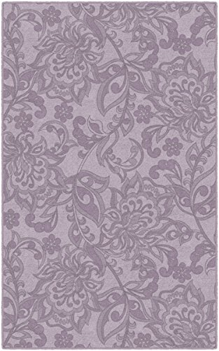 Brumlow Mills EW10245-30x46 Jacobean Floral in Lavender Purple Traditional Area Rug, 2'6