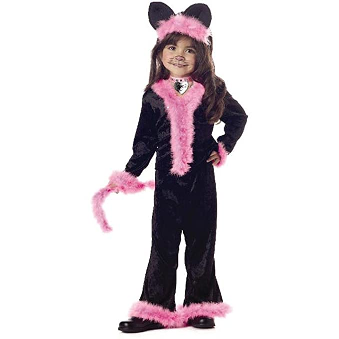 Childu0027s Toddler Pretty Pink Kitty Cat Halloween Costume ...  sc 1 st  Amazon.com & Amazon.com: Childu0027s Toddler Pretty Pink Kitty Cat Halloween Costume ...