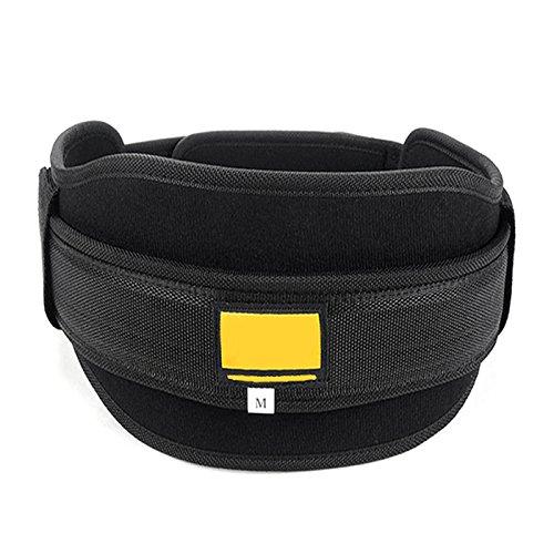 Forfar Neoprene WeightLifting Boxing Sanda Protection belt Gym Fitness Wide Back Support Training Belt Nylon Wais by Forfar