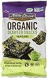 ANNIE CHUN'S, Seaweed Snk, Og2, Wasabi, Pack of 12, Size .16 OZ, (Gluten Free GMO Free Vegan 95%+ Organic)