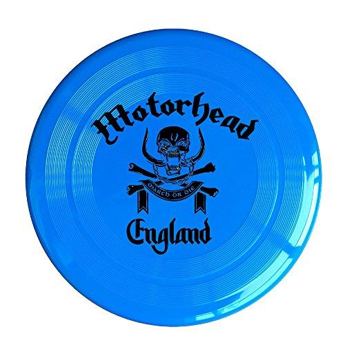 VOLTE Motörhead British Heavy Metal Rock Band Skull RoyalBlue Flying-discs 150 Grams Outdoor Activities Frisbee Star Concert Dog Pet (Star Fox Dog Costume)