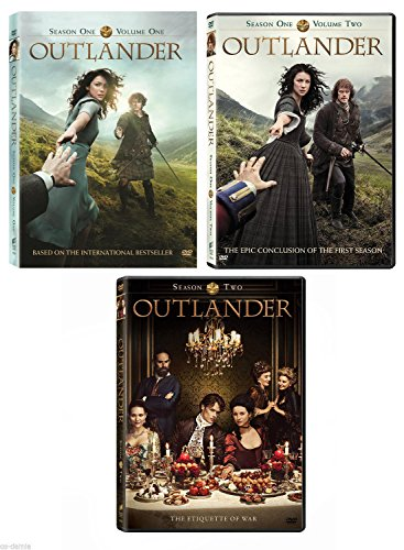 Outlander DVD Pack 1-2 Season one and two [DVD] (Tv Outlander Series)