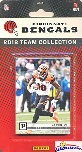 Cincinnati Bengals 2018 Panini NFL Football Factory Sealed Limited Edition 12 Card Complete Team Set Andy Dalton, A.J. Green, Joe Mixon, Giovani Bernard & Many More! WOWZZER!