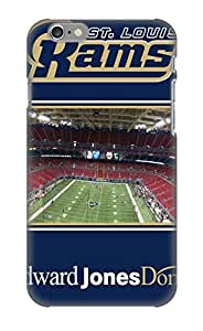 Armandcaron Scratch-free Phone Case For Iphone 6- Retail Packaging - St Louis Rams Nfl Football Fw