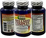 Nature Desires Wellness Formula :: Herbal Immune Defense Complex :: Boost Your Health and Well-being :: 60 Capsules Natural Dietary Supplement :: High Potency Formulation Review