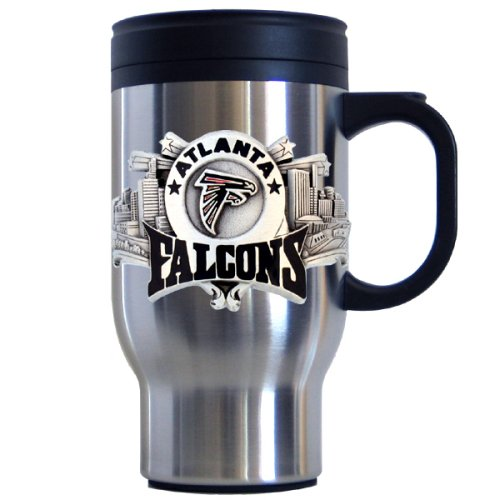 Siskiyou Sports Atlanta Falcons 18 oz NFL Stainless Steel Travel Mug