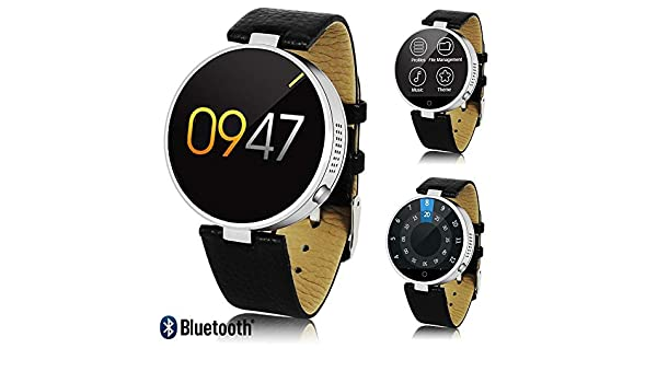 1 Profesional Piel sincronización Bluetooth SmartWatch (SMS ...