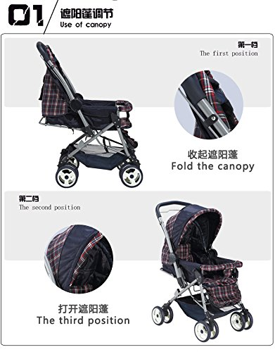 landscape aluminum baby trolley baby prams and pushchairs cochecito bebe poussette pliante portable by vory (Image #2)