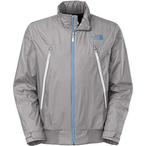 The North Face Diablo Mens Wind Jacket In Pache Grey (Large) -