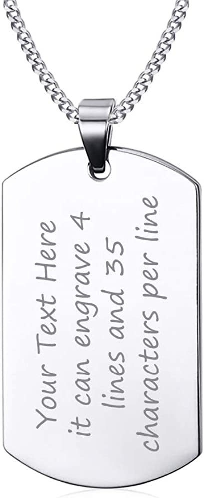 Unique Gifts Store Army Husband v2 Luxury Dog Tag Necklace