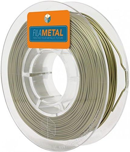 FFFworld FilaMETAL Bronze 1 kg. 1.75 mm Filamento metálico para ...