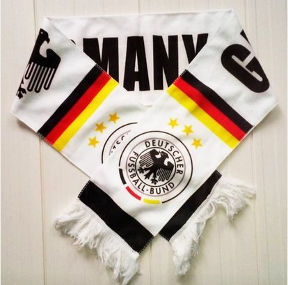 p Fans Scarves(nine Countries) (Germany) (Usa Brazil World Cup)