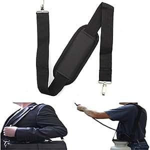 HobbyAnt 48in/122cm Replacement Shoulder Waist Strap Luggage Padded Safety Bag Adjustable Belt Black