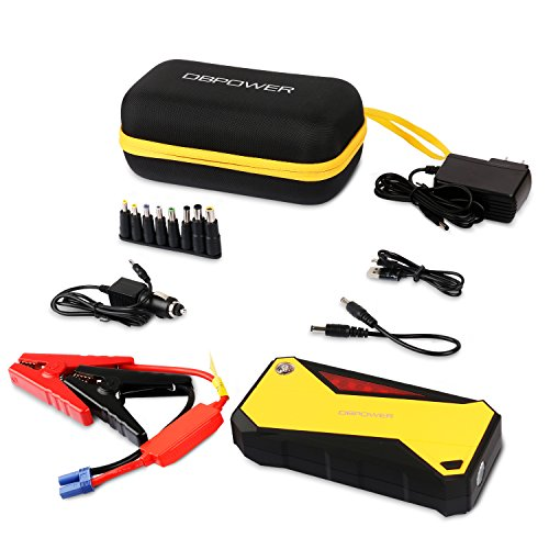 dbpower 600a peak 18000mah portable car jump starter up. Black Bedroom Furniture Sets. Home Design Ideas