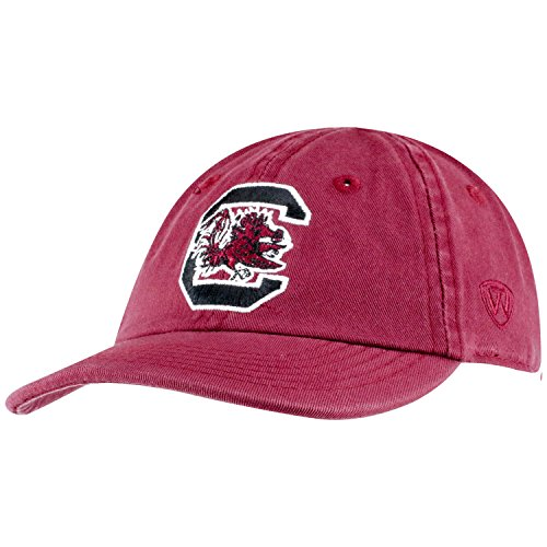 Top of the World South Carolina Fighting Gamecocks Infant Hat Icon, Garnet, Adjustable