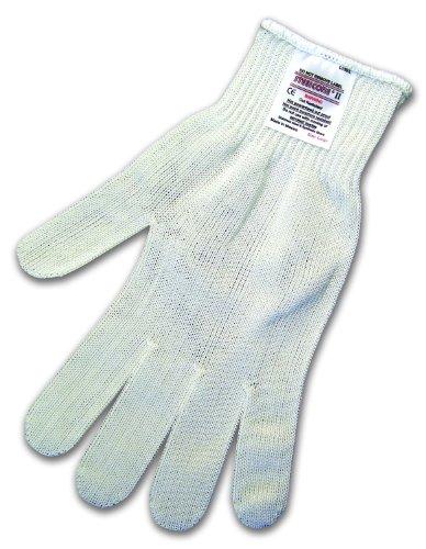 MCR Safety 9356M Steelcore II Medium Weight 10-Gauge Reversible Cut Resistant Gloves, White, Medium