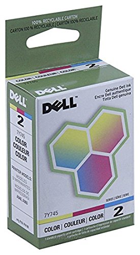 High Resolution Color Inkjet - Dell 7Y745, 310-3541, 310-4633 (Series 2) Color High Resolution OEM Genuine Inkjet/Ink Cartridge - Retail