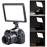 Bestlight 0.6''/1.5cm Ultra Thin BLPad-22 112-LED Video Light Dimmable Flat Panel On-Camera Light Pad for Canon Nikon Pentax Olympus Samsung Panasonic JVC DSLR Cameras DV Camcorders