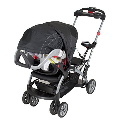 baby trend sit and stand platform infant toddler double ultra stroller lagoon 90014019365 ebay. Black Bedroom Furniture Sets. Home Design Ideas