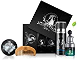 Cool Beard Grooming Kit Contains - Beard Balm, Beard Oil, Beard Shampoo Ultra Soft, Beard comb, Gift Packaging.
