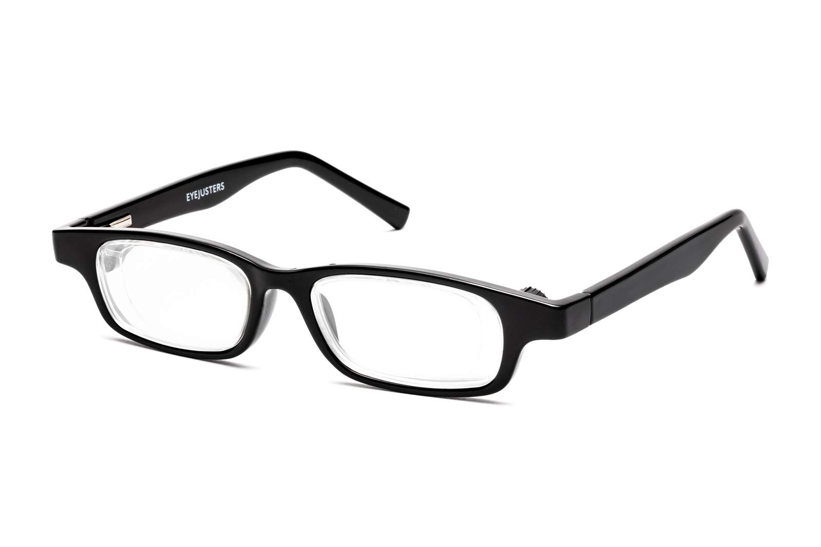 Eyejusters Self-Adjustable Glasses, Oxford Edition, Black by EYEJUSTERS