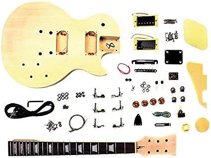 Guitarra eléctrica de LP Proyecto kit de bricolaje con el cuerpo ...