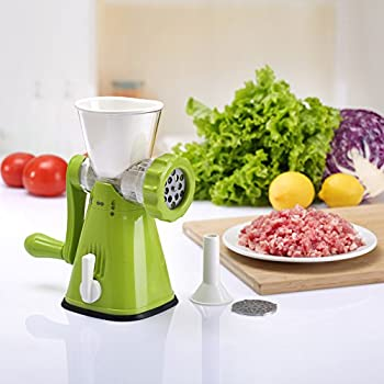 Yofit Meat Grinder Manual Meat Mincer Pasta Maker Mince and Sausages
