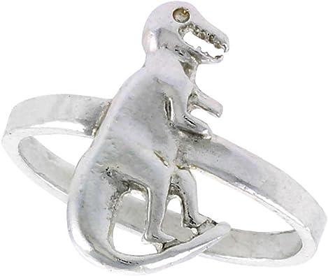 Sterling Silver Dinosaur Ring