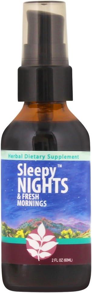 WishGarden Herbs - Sleepy Nights, Organic Herbal Sleep Aid, Supports Healthy Sleep Cycles, Wake Up Fresh in The Morning (2 Ounce Pump)