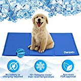 OWNPETS Pet Self Cooling Gel Pad/Cooling Mat, Pressure Activated, Anti-inflammatory, 100% Safe Non-Toxic