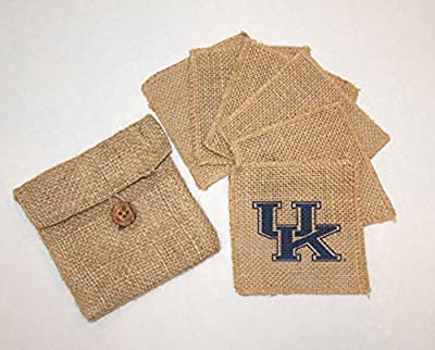 Kentucky Burlap Coasters