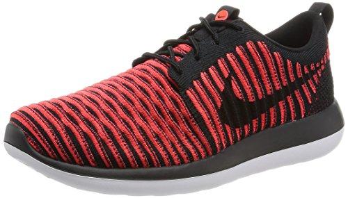 Nike Mens Roshe Two Flyknit Loopschoenen Zwart
