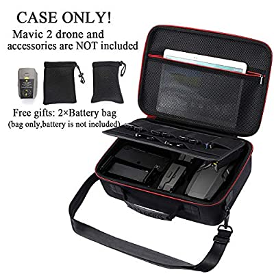 Hard Storage Carrying Case for DJI Mavic 2 Zoom/Pro Drone and Fly More Combo(Not fit for Mavic pro/Mavic Platinum): Camera & Photo
