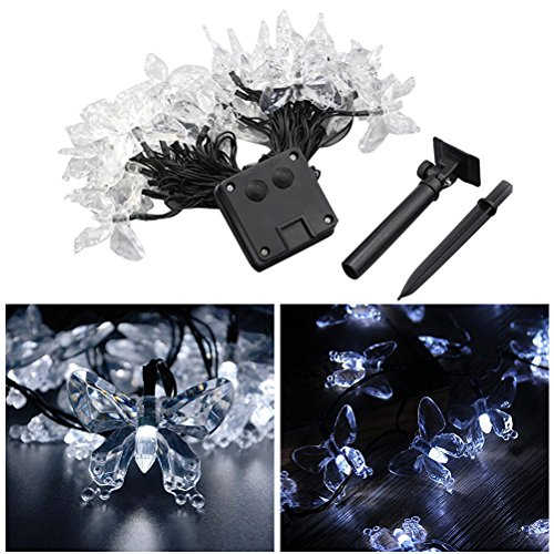 Solar Panel Butterfly Lights in US - 9